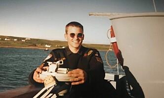 Korvett-skipssjef på besøk i sin ungdoms fregatt: – Spesielt