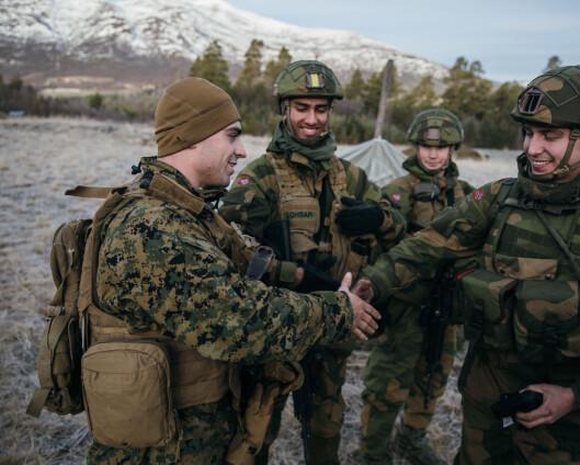 Fra 650 til rundt 20 US Marines i Norge mellom øvelser