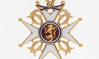 St. Olavs Orden for embedsfortjeneste til Bruun-Hanssen