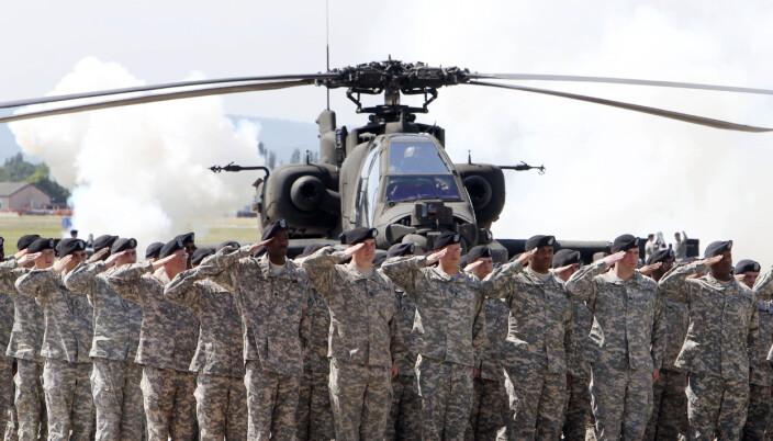Amerikanske soldater i tyske Wiesbaden i mai 2011
