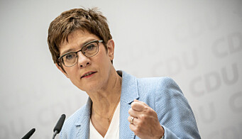 Forsvarsminister Annegret Kramp-Karrenbauer advarer at KSK i sin helhet kan bli lagt ned dersom utfordringene fortsetter.