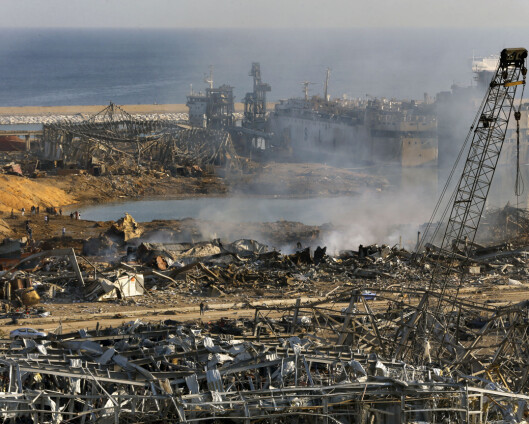 Unifil-soldater alvorlig skadd i Beirut-eksplosjon