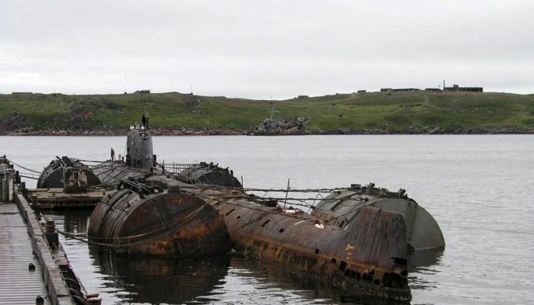 Ubåten K-159 sank i 2003, og har siden den tid ligget på 200 meters dyp. Nå skal den hentes opp igjen.