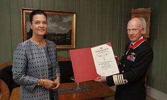 Forsvarssjefen dekorert med St.Olavs Orden: – En fantastisk reise