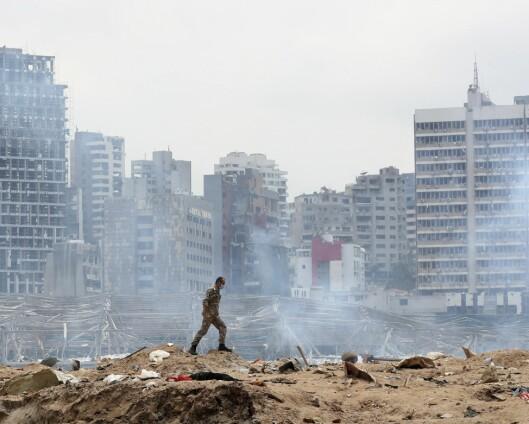 Vil sende norske veteraner til Libanon