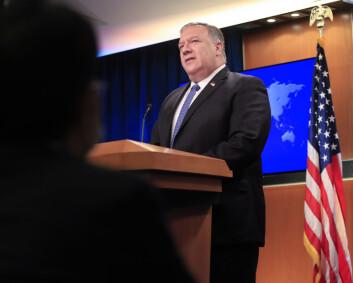 Tekstmelding fra Washington tikket inn på mobiltelefoner i Russland og Iran