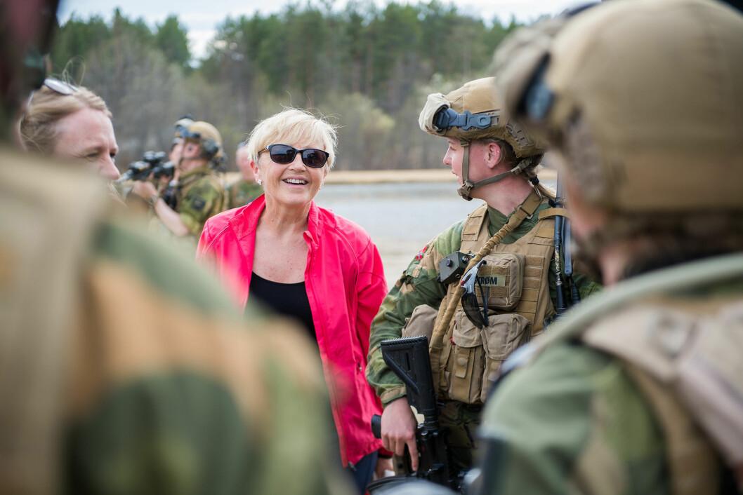 – Dette er så ille at jeg nesten ikke har ord, sier Liv Signe Navarsete (Senterpartiet). Foto: Ole-Sverre Haugli.