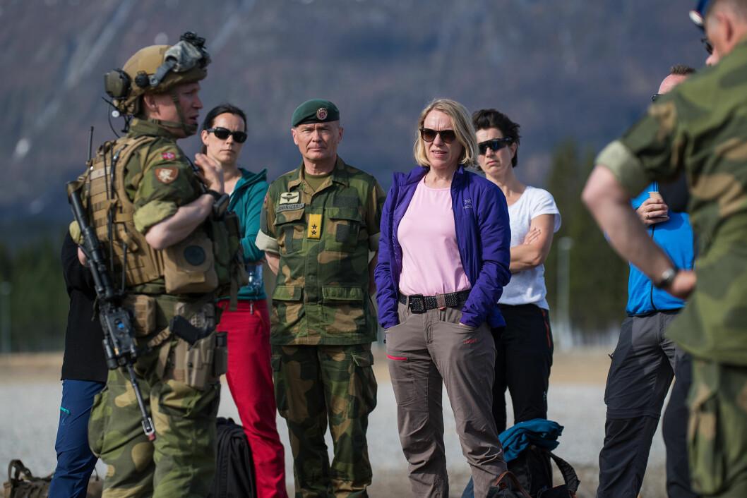 –Blir dette forslaget stående, er det et brudd på forliket, sier Anniken Huitfeldt. Foto: Ole-Sverre Haugli.