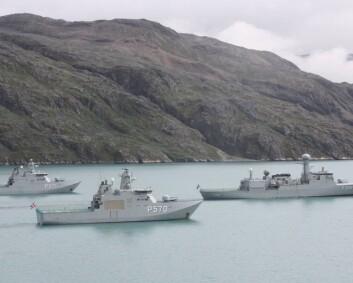 Det danske forsvaret har åpnet nytt kontor i Nuuk