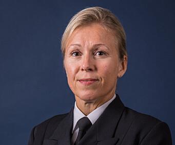 Torill Herland, kommunikasjonssjef i Sjøforsvaret.