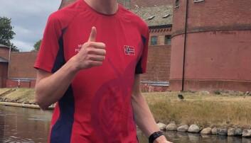Kristoffer Skonnord tok en individuell seier under lekene i Sverige (foto:privat).