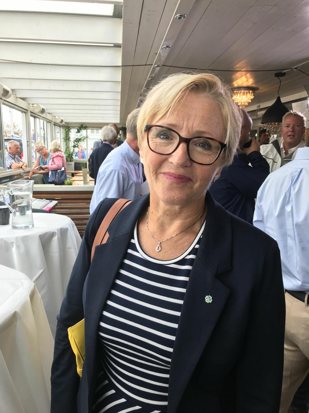 Landmakt: Sp-politiker Liv Signe Navarsete mener Landmakten har blitt nedprioritert under regjeringens forsvarspolitikk. Hun vil tilføre Hær og HV mer midler.