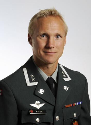 OberstløytnantTormod Heier ved Forsvarets høgskole (Foto: Forsvaret).