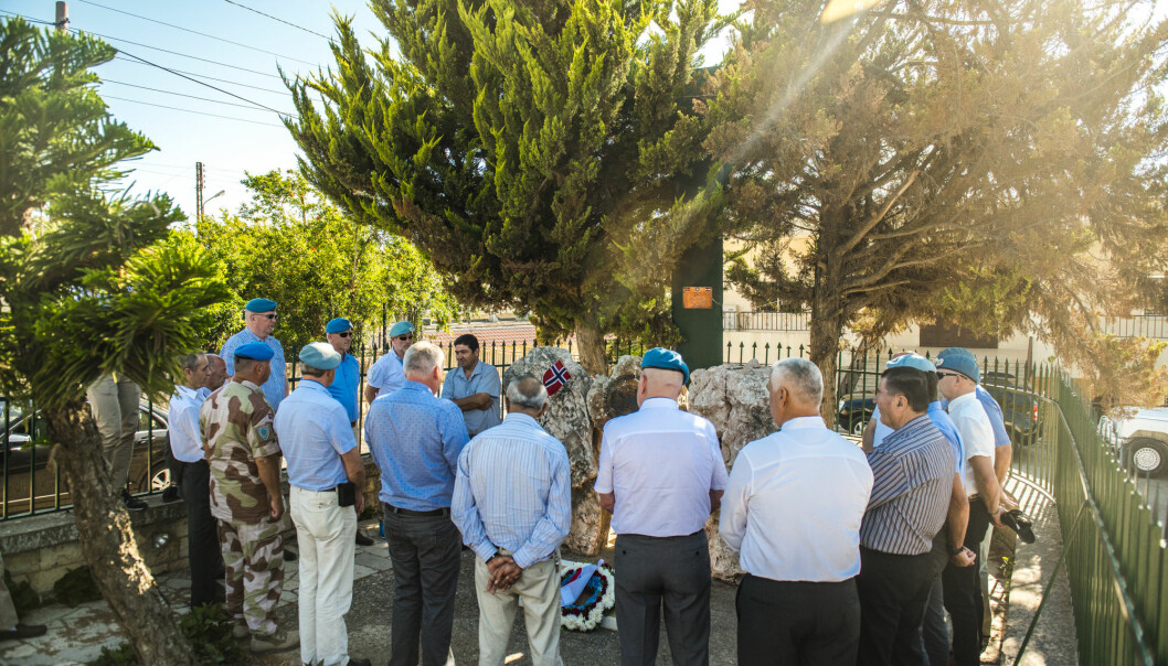 Ifølge Aftenposten er det flertall for å gjøre om på flere punkter i veteranpolitikken til regjeringen. Her ser vi veteraner som har reist tilbake til Libanon.