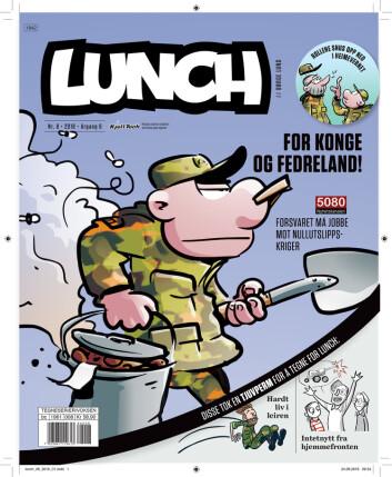 Dette er det 44. bladet med alternativ forside i&nbsp;<SPAN style=&#34;COLOR: &#34;></SPAN> <SPAN style=&#34;COLOR: &#34;>Lunch</SPAN><SPAN style=&#34;COLOR: &#34;>-seri</SPAN><SPAN style=&#34;COLOR: &#34;>en.</SPAN>