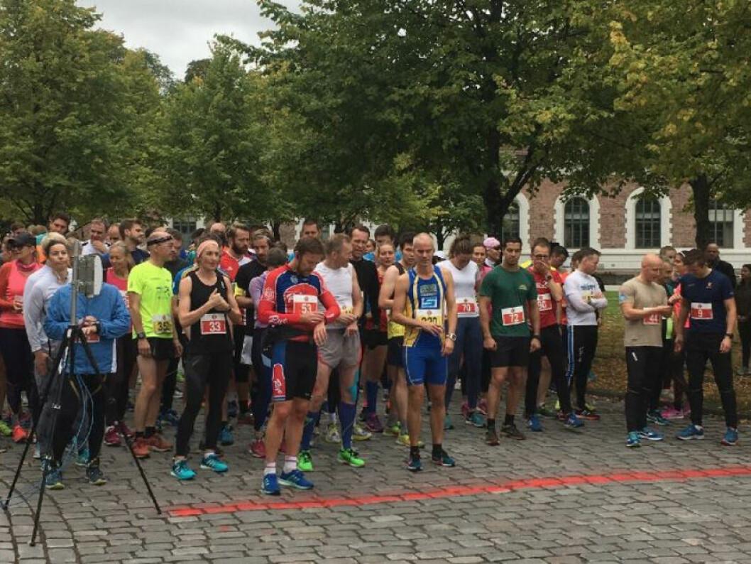 I FJOR: Mange løpere stilte til start i fjorårets løp. I år ventes det enda flere løpere. FOTO: NVIO