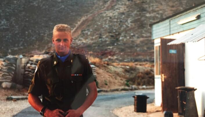 Eirik Kristoffersen i Libanon i 1992
