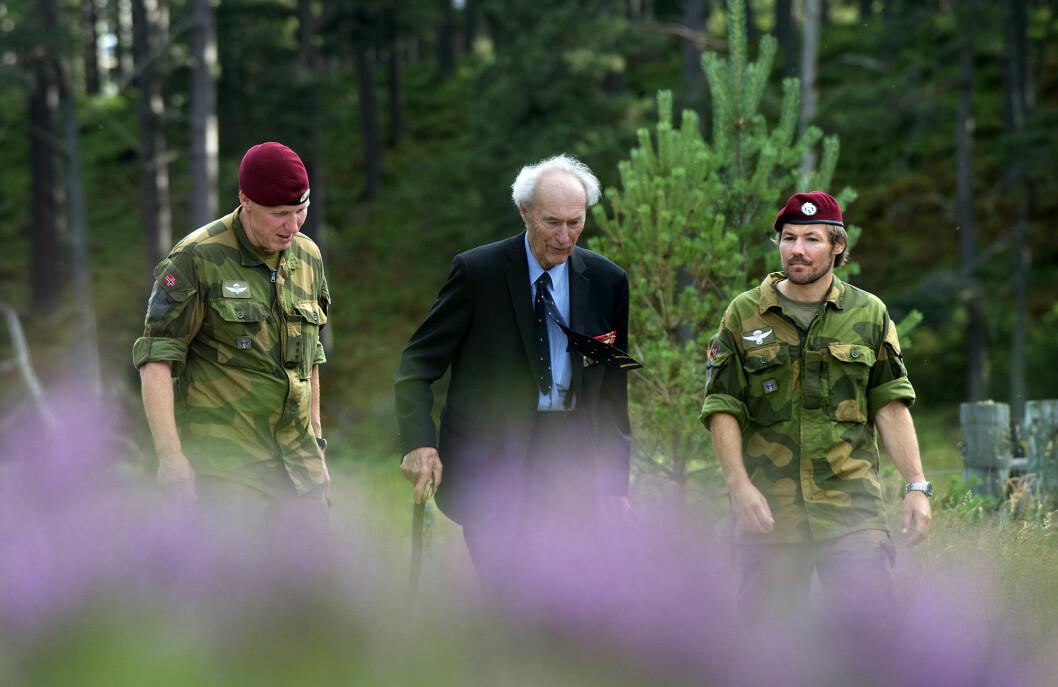 I 2012 ble Forsvarets forum med Joachim Rønneberg tilbake til de stedene i Skottland hvor han trente før operasjonen på Rjukan.