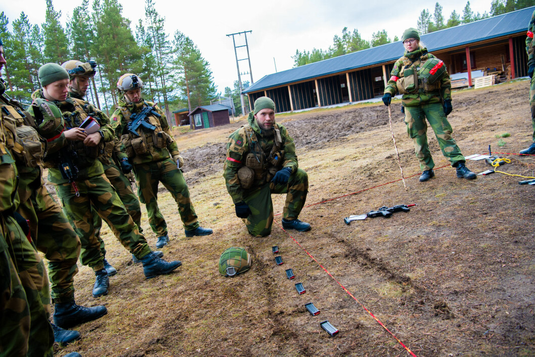 Øvelseskrigen er over. Nå starter det som for Stridstrenbataljonen er en ny skarp operasjon: tilbaketrekkingen.