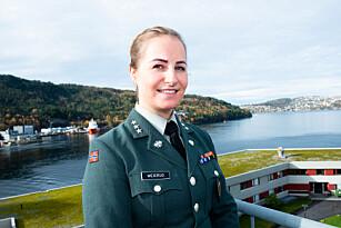 Miriam Weierud, major, nestleder i Militært kvinnelig nettverk