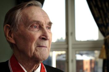 Motstandsmannen Gunnar Sønsteby ble 94 år gammel.