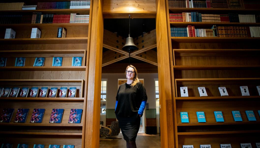 Marte Michelet er kritisk til hvordan blant annet Hjemmefrontmuseet har formidlet norsk okkupasjonshistorie.