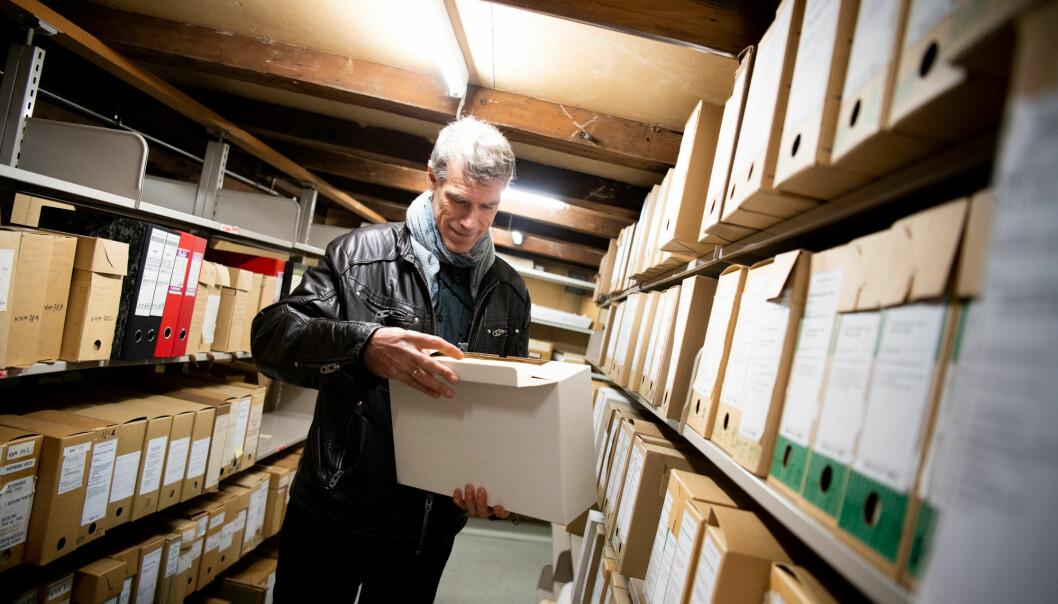 HOLDER IKKE: Fungerende leder ved Hjemmefrontmuseet, Frode Færøy, mener funnene i boka til Michelet ikke holder faghistorisk mål.