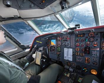 Blir en av de første pilotene på P-8 Poseidon