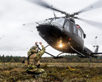Endrer 2. bataljon og fjerner helikopter fra nord