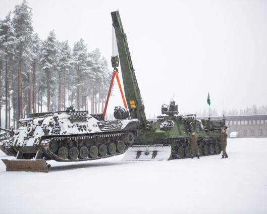 Hærens nye bergingsvogn