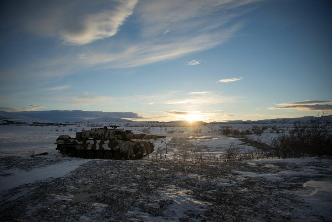 Satsing: Høyres Hårek Elvenes mener regjeringen kan vise til en rekordsatsing på Forsvaret.