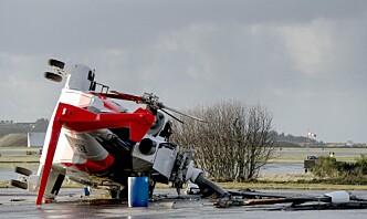 Helikopterulykken – menneskelig svikt og høyt tidspress