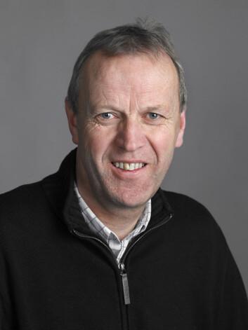 Seniorforsker Svein Melby (Foto: Håvard Madsbakken/Forsvaret).
