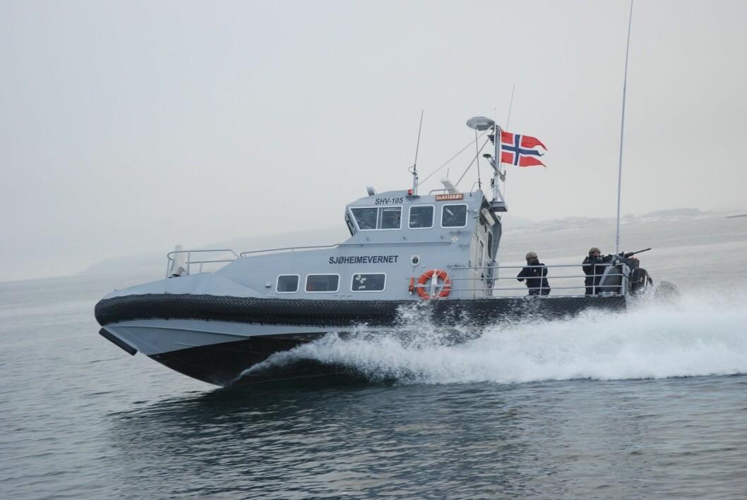 Under den siste treningen, finslipte sjøheimevernssoldatene på taktikken for å sikre norskekysten.