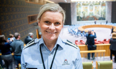 Cecilie Konradsen, oberstløytnant, Forsvarsdepartementet