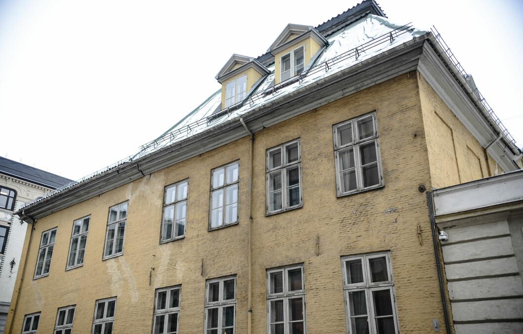 Forsvarsdepartementet har besluttet å selge Gamle Krigsskolen. Den har vært Forsvarets eiendom i mer enn 200 år. Foto: Robert Eik.