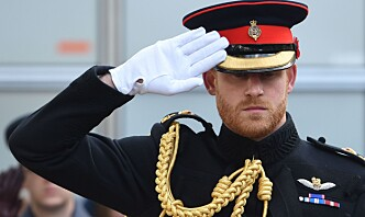 Prins Harry besøker militærøvelse i Norge