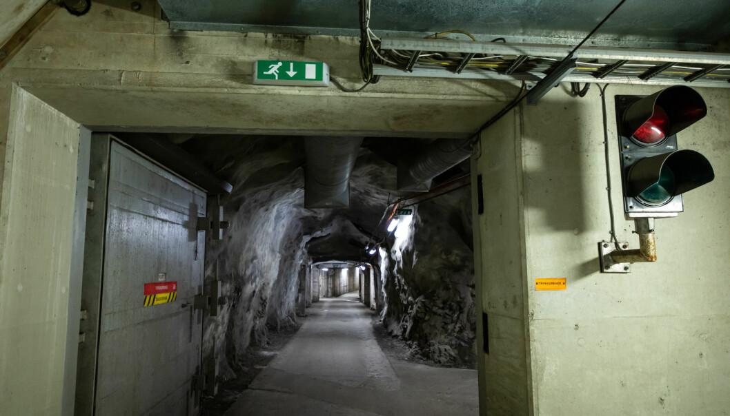 Forsvarets forum besøkte et av de større tilfluktsrommene i Oslo i 2019. Regjeringen ønsker nå avvikle dagens ordning med tilfluktsrom for sivile og i stedet erstatte det med trygge oppholdsrom.