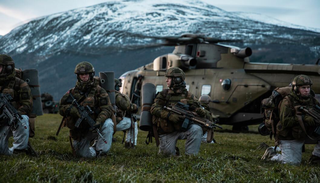 Det er oppsiktsvekkende at oberstløytnant Tormod Heier ikke er bedre kjent med Natos forsvarsplaner, skriver viseadmiral Elisabeth Natvig. Dette bilde er fra Nato-øvelsen Trident Juncture i Norge.