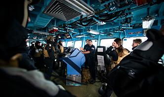 Norsk fregatt fikk toppscore