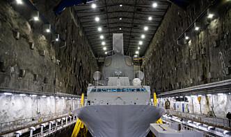 Hvert femte år er fregattene minst to år til vedlikehold