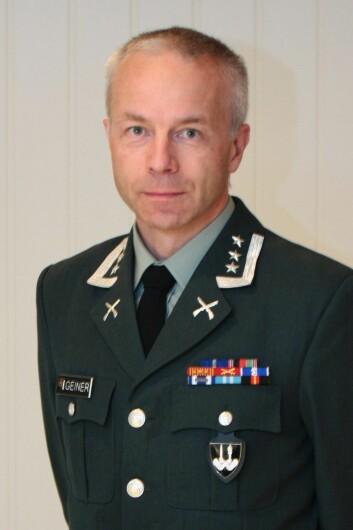 Oberst Jan Frederik Geiner (Foto: privat).
