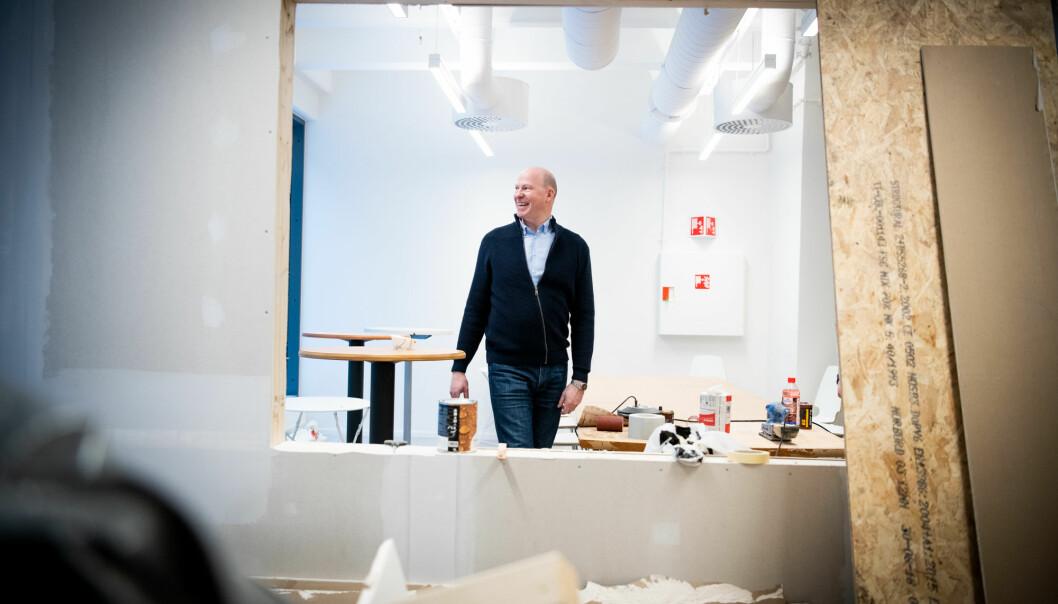 Generalsekretær Øystein K. Wemberg i Siops. Bildet er tatt i anledning en tidligere sak.