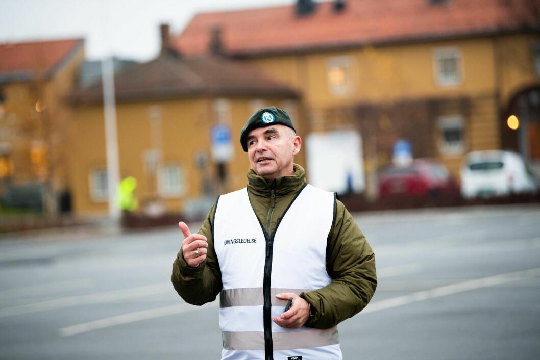 Prisvinner: Oberstløytnant Per Inge Ohrstrand vant Beredskapsprisen 2018 i forsvarsrelatert sektor (Foto: Ylva Seiff Berge/Forsvarets forum).