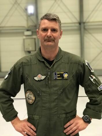Bjørge Kleppe har 4500 timene bak spakene i F-16 (Foto: Øyvind Førland Olsen/Forsvarets forum).