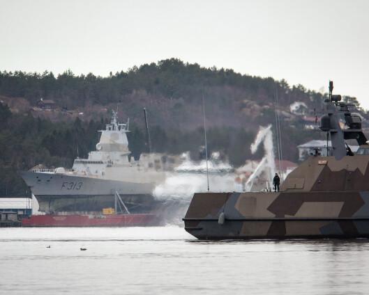 Mandag blir KNM Helge Ingstads siste tur