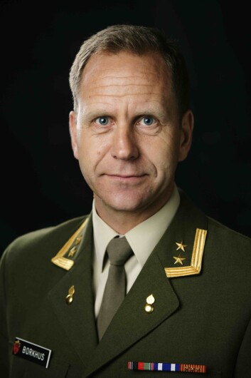 Oberstløytnant Jostein Borkhus (Foto:Torgeir Haugaard/Forsvaret).