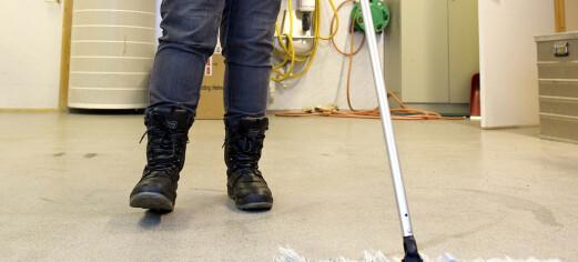 Vi trenger flere ansatte som jobber med renhold