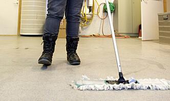 Støre-regjeringen vil ha bort private renholdere i Forsvaret