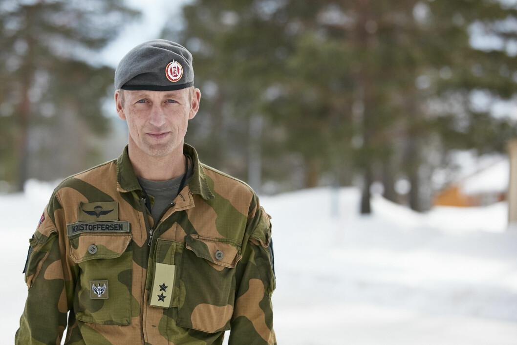 For generalmajor Eirik Kristoffersen ble første høst ikke helt som han hadde tenkt seg, den handlet om vaskemaskiner.
